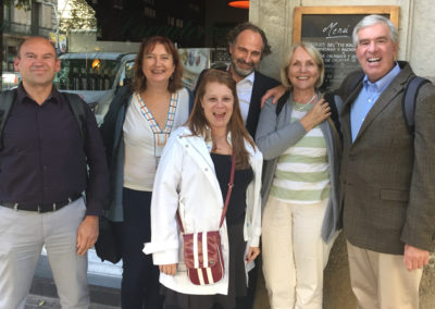 CCE Board Meeting Claudia, Ana, Annelie, Pere, Remco, Steven - BCN, Spain 28 Oct. 2016