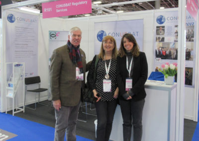 CCE at In-Cosmetics - Paris - 2019 Steven Hanft is one lucky guy with, Ana Rocamora and Claudia Mesegue the 'Barcelona Senora Connection'!